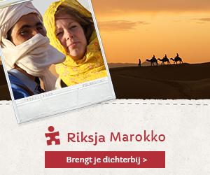 Marokko rondreis Riksja