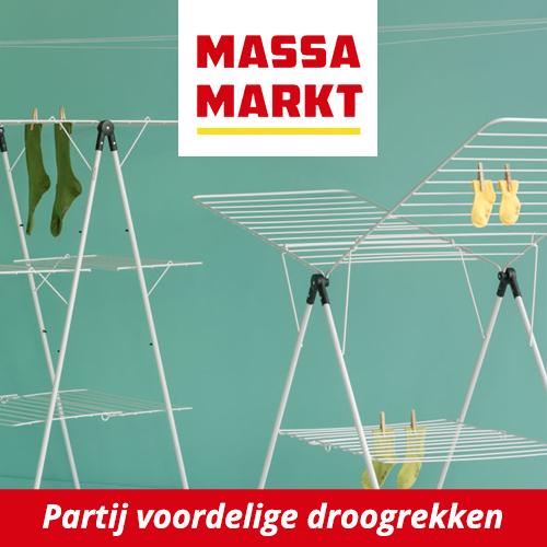 Voordelige droogrekken bij Massamarkt