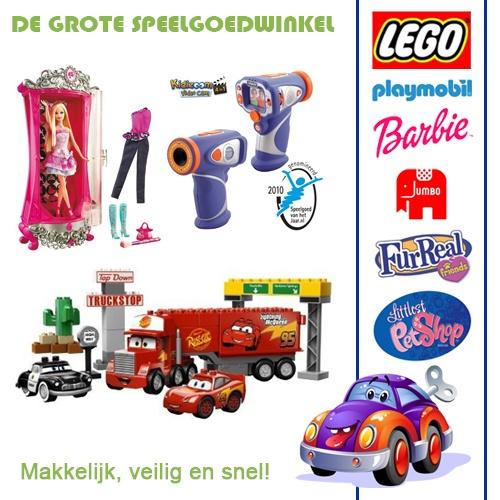 De Grote Speelgoedwinkel - Speelgoed, Spellen en Puzzels
