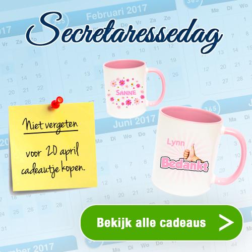 Secretaressedag cadeau nodig? Watzalikkopen.nl