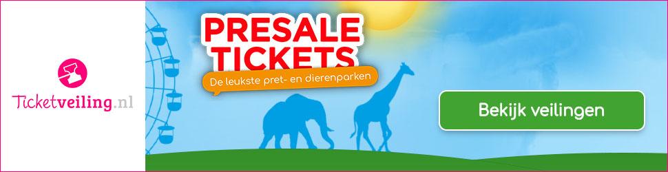 Presale tickets met korting