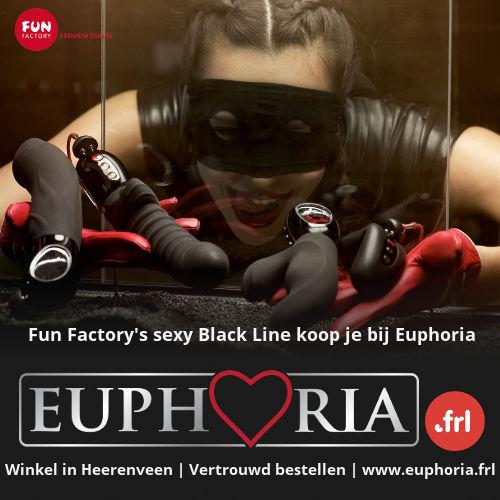 Fun Factory's sexy Black Line producten koop je bij Euphoria