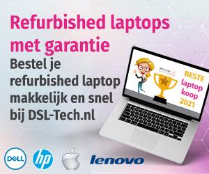 Refurbished laptop kopen bij DSL-Tech.nl