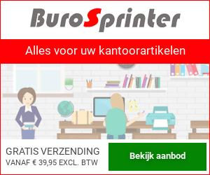 Klik hier voor de korting bij BuroSprinter.nl