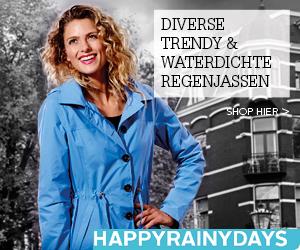 Diverse trendy & waterdichte regenjassen. Zomercollectie 2015