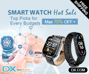 Hurry! Max €33 OFF on Fitness Smart Watches