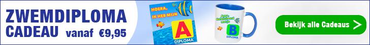 De leukste zwemdiploma cadeaus vindt je op Watzalikkopen.nl