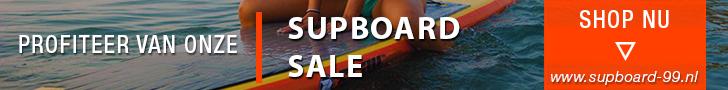 Een SUP-board huren