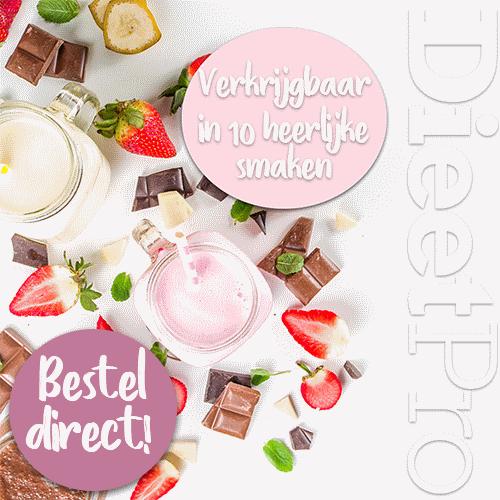 Klik hier voor de korting bij Dieetpro.nl