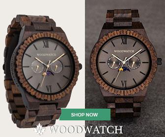 Houten Horloges uit de GRAND Collectie van de Originele WoodWatch.