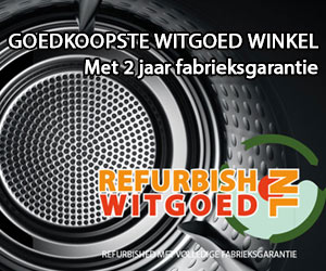 Refurbished Witgoed met 2 jaar garantie, uitvoerig getest.
