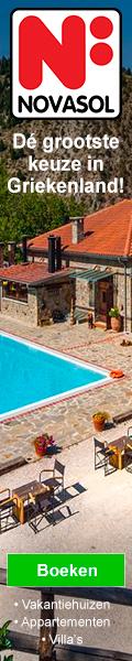 NOVASOL Vakantiehuizen in Griekenland