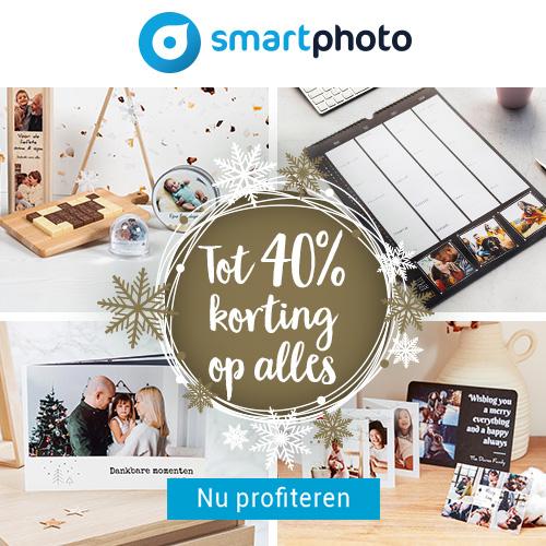 Smartphoto - Wintersale tot 40% korting