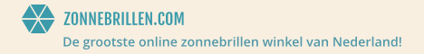 Nu tot 40% korting bij Zonnebrillen.com tijdens de Sunny Super Sale!