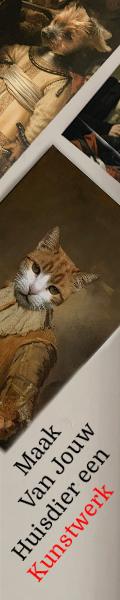 Jouw huisdier als huisdier portret op een Oude Meester? Nu met 30% Korting + Gratis Verzending