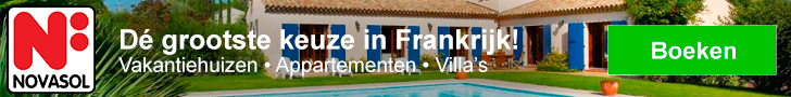 NOVASOL Vakantiehuizen aande Cote d'Azur in Frankrijk