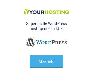 WordPress in een paar klikken online!