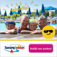Suncamp Holidays bij de Vakantieman