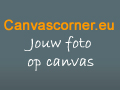 canvas corner foto op canvas doek