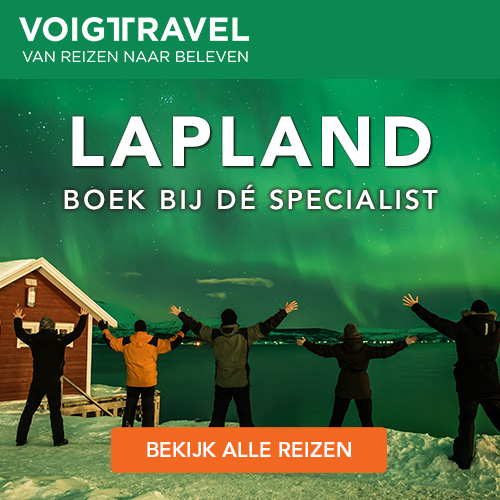 Noorderlicht in Lapland met Voigt Travel