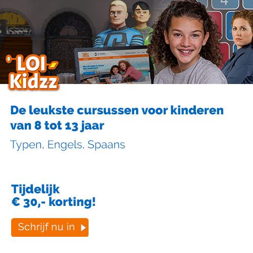 LOI Kidzz, cursussen voor kinderen