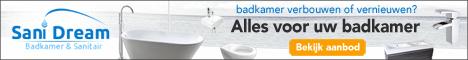 Sanidream.nl: alles voor uw badkamer