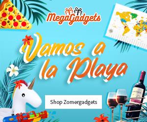 Vamos a la MegaGadgets! Haal je zomergadgets nu in huis bij MegaGadgets!