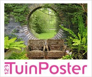 123tuinposter.nl: een tuinposter in elk mogelijk formaat
