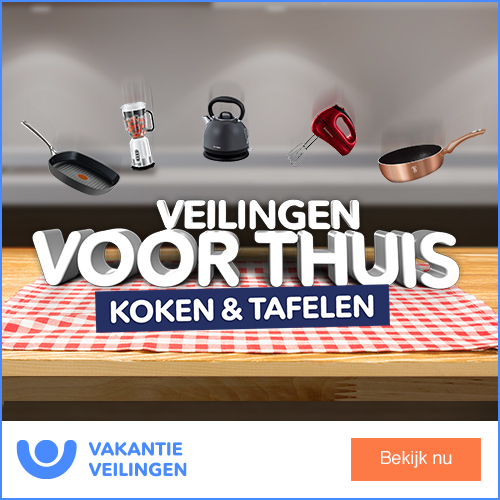 Klik hier voor de korting bij VakantieVeilingen.nl