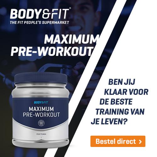 body&fit pre workout