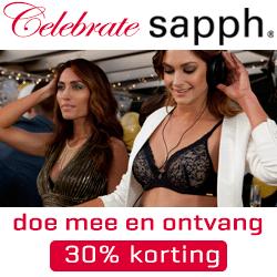Celebrate Sapph - ontvang 30% korting!