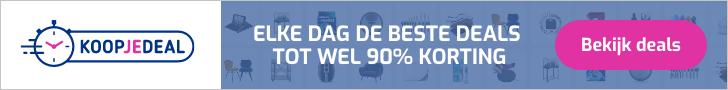 Koopjedeal.nl – Kortingen tot 90% op artikelen in de categorie Wonen