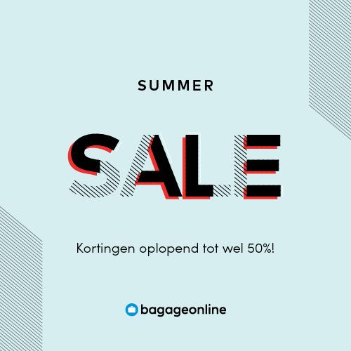 Summersale! kortingen tot 50% bij bagageonline.nl
