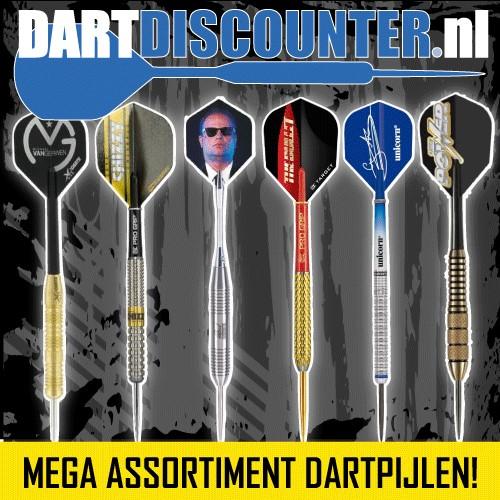 GRoot assortiment Dartpijlen tegen scherpe prijzen