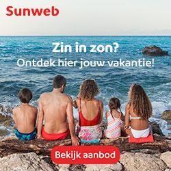 op vakantie met Sunweb