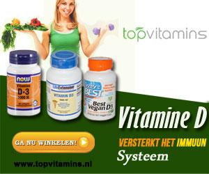 Vitamine D bij Topvitamins.nl