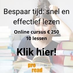 Online leescursus voor studenten en leerlingen met prijs en duur