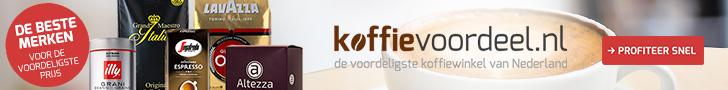 Koffievoordeel.nl – Gratis Amaretti koekjes bij bestelling vanaf € 30,-