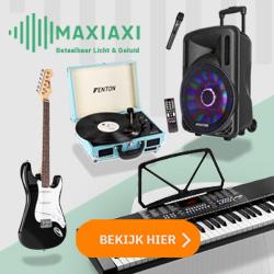 MaxiAxi - Betaalbaar licht & geluid