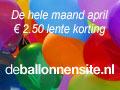 € 2.50 lente korting in April