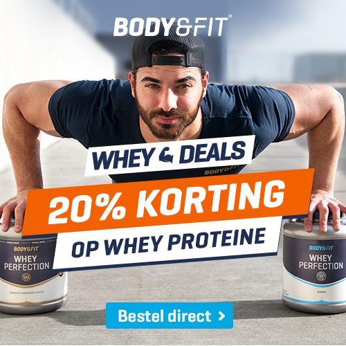 body&fit korting whey