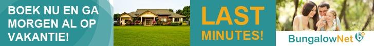 Zoek jouw geschikte vakantiewoning bij Bungalow.net