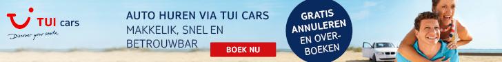 vakantieauto huren bij TUI cars in 2020