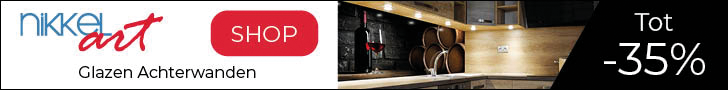 Nikkel-art.nl – 35% korting op glazen achterwanden
