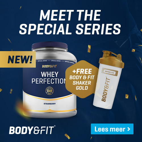 body en fit gratis creatine bij pot whey
