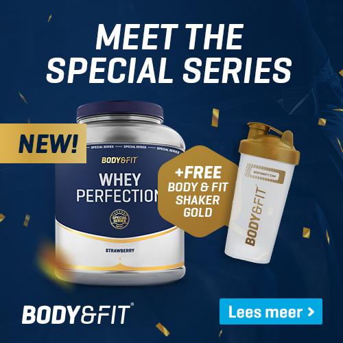 body en fit gratis creatine bij pot whey actie