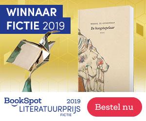 Winnaars BookSpot Literatuurprijs Fictie & Non-fictie 2019