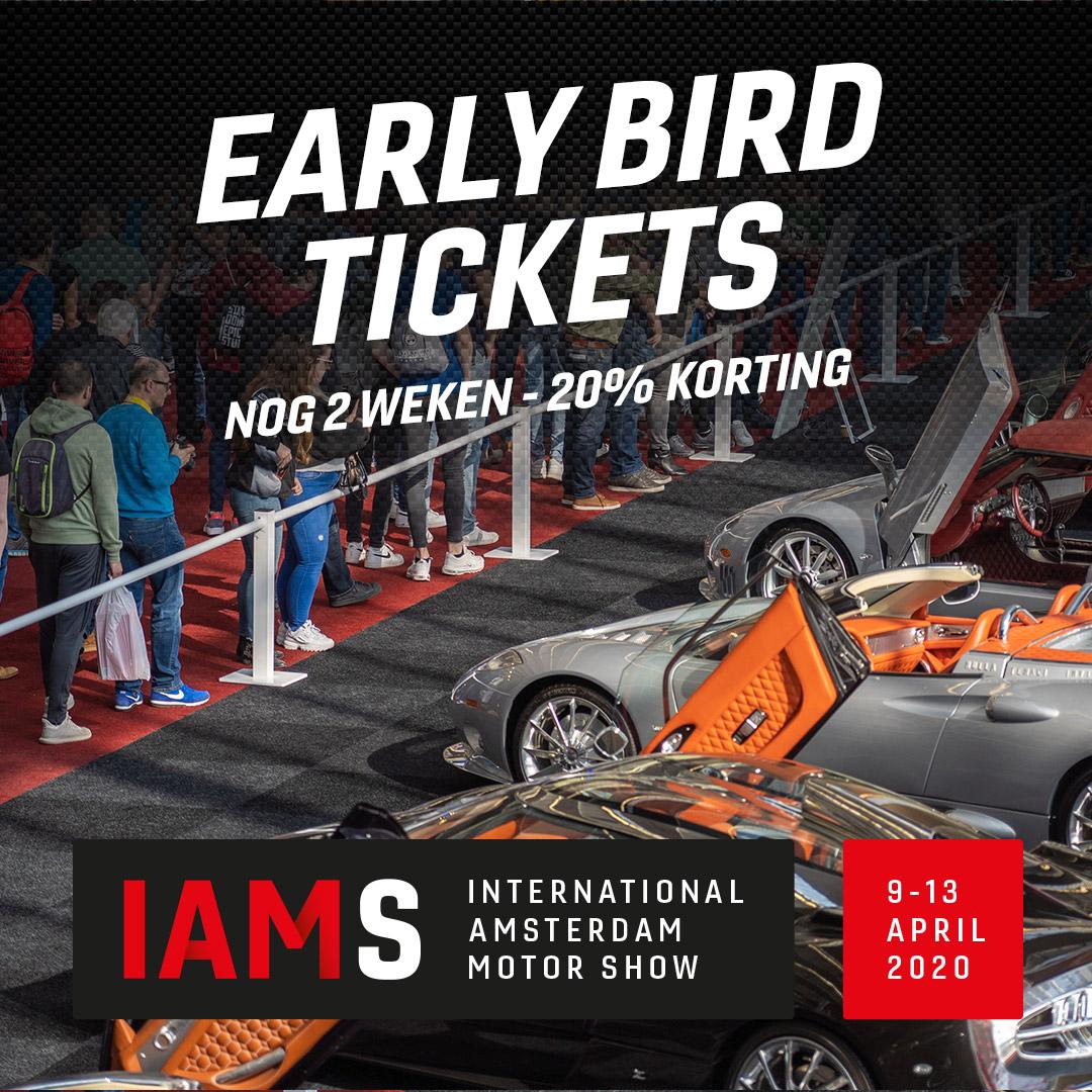 Klik hier voor de korting bij Amsterdammotorshow