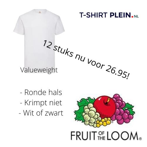 12 shirts voor 26.95