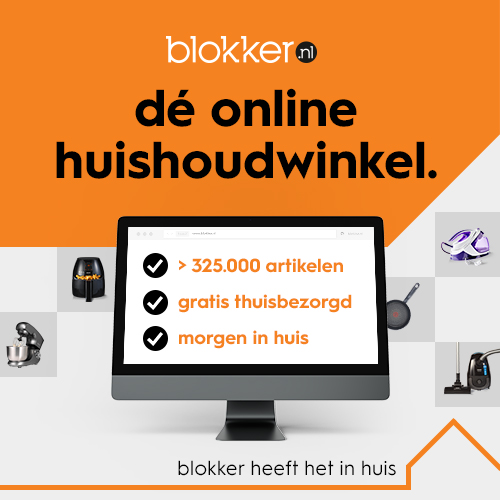 Alleen online tot 20% korting bij Blokker
